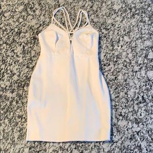 White Party Mini Dress Size S